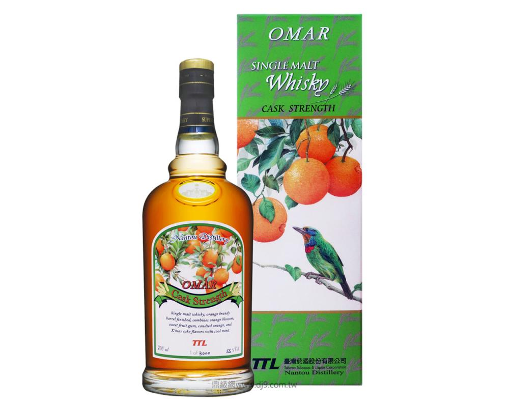 OMAR首批原桶強度-柳丁酒桶麥芽威士忌