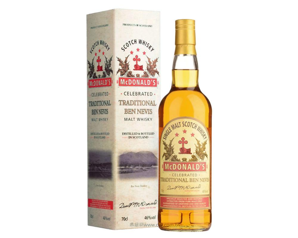 班尼富1882年純麥威士忌(復刻款)