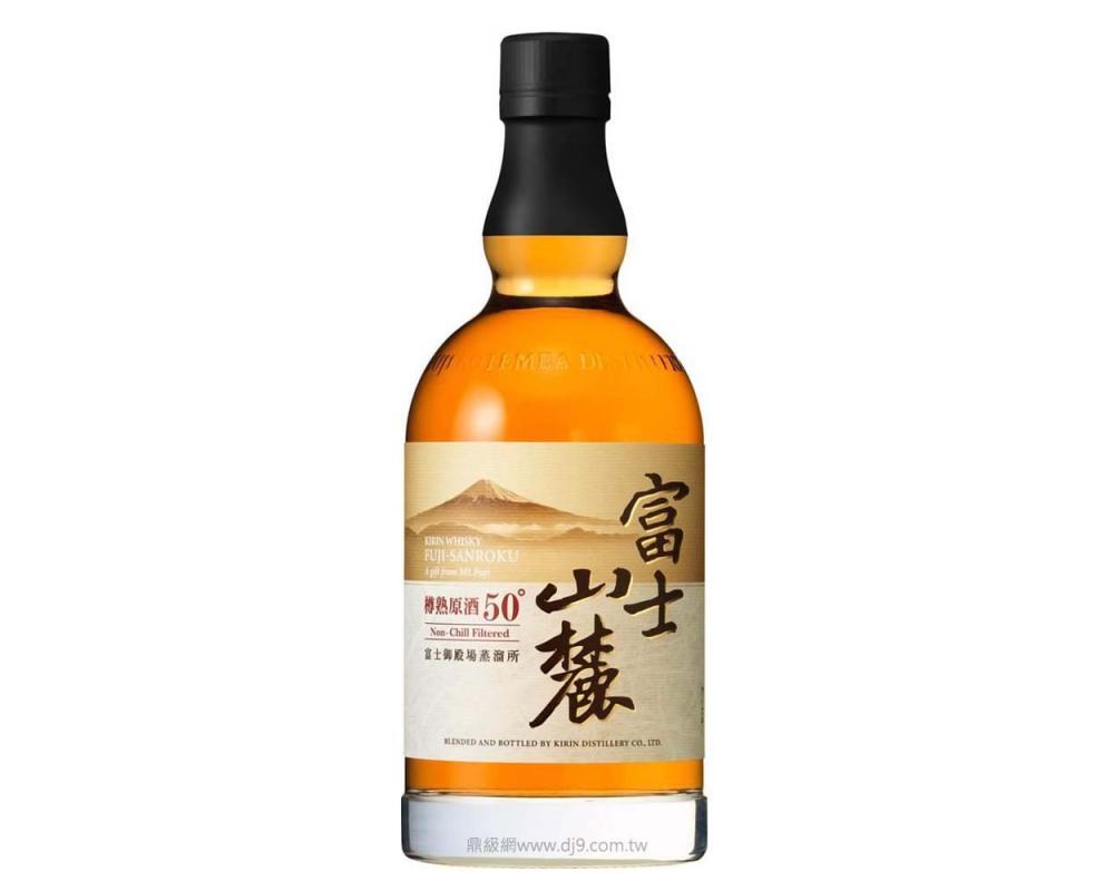富士山麓 樽熟原酒50° 威士忌.700ml