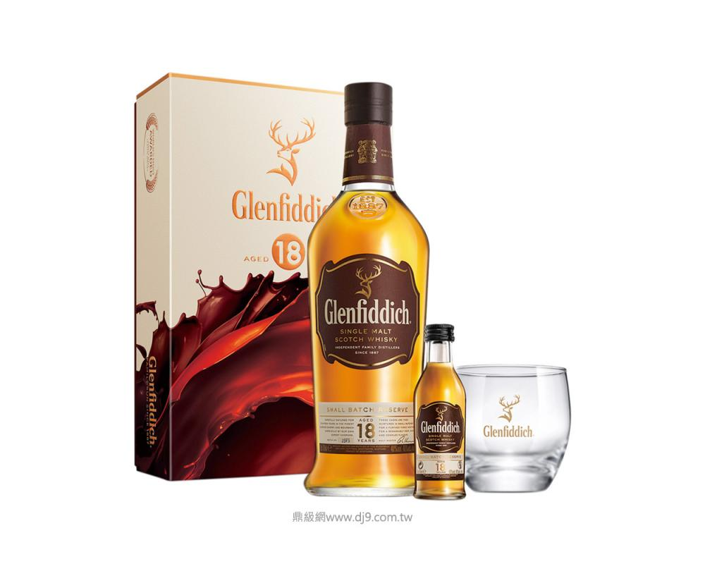 格蘭菲迪18年威士忌禮盒(2019新春限定)