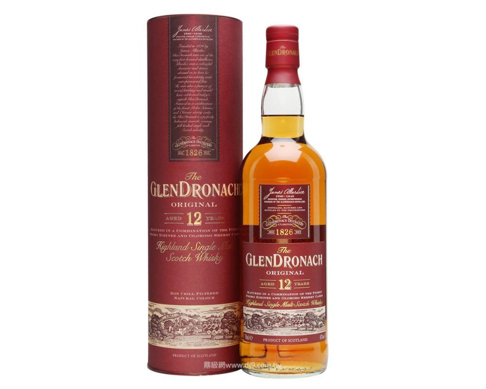 【箱購特價12入】格蘭多納12年單一麥威士忌