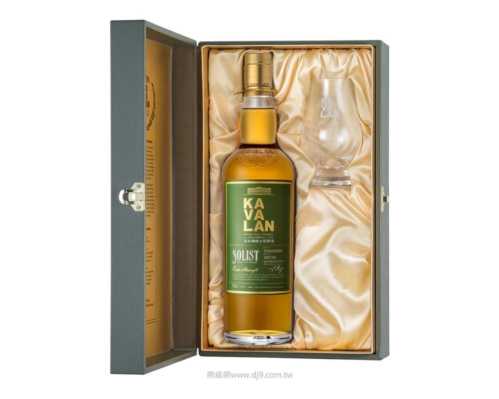噶瑪蘭波本桶單一麥芽威士忌原酒禮盒