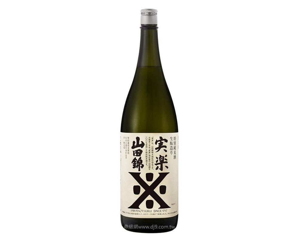 沢之鶴實樂特別純米酒1.8l