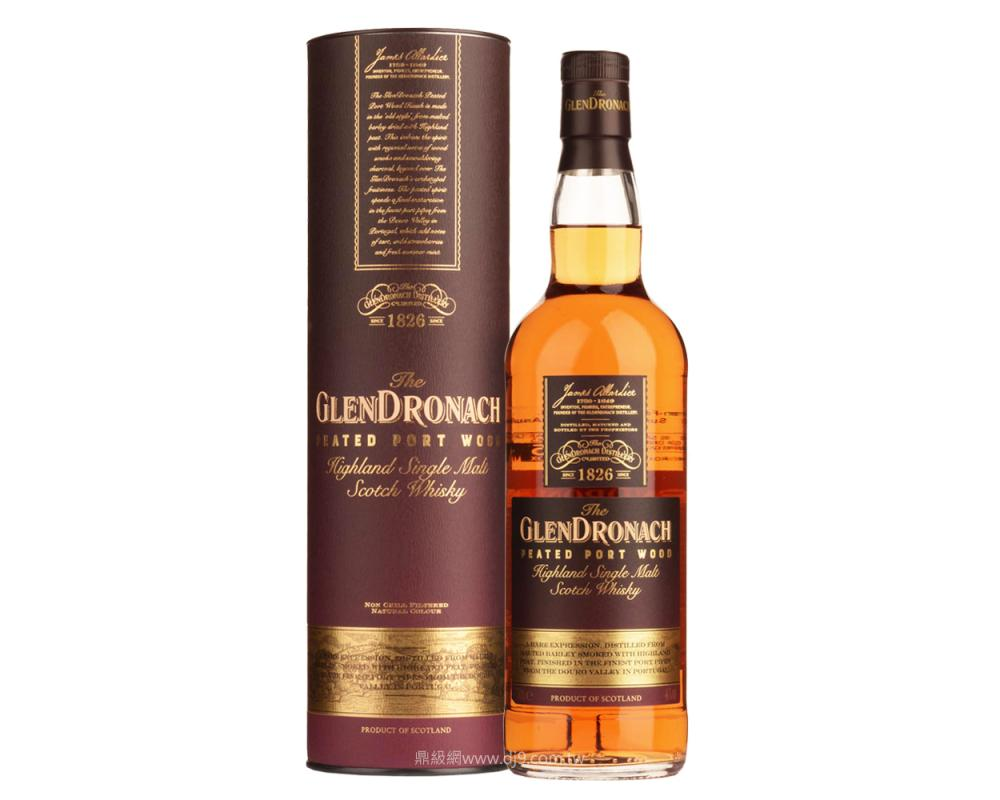 格蘭多納泥煤波特風味桶單一麥芽威士忌