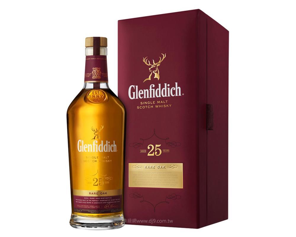 格蘭菲迪25年單一純麥威士忌