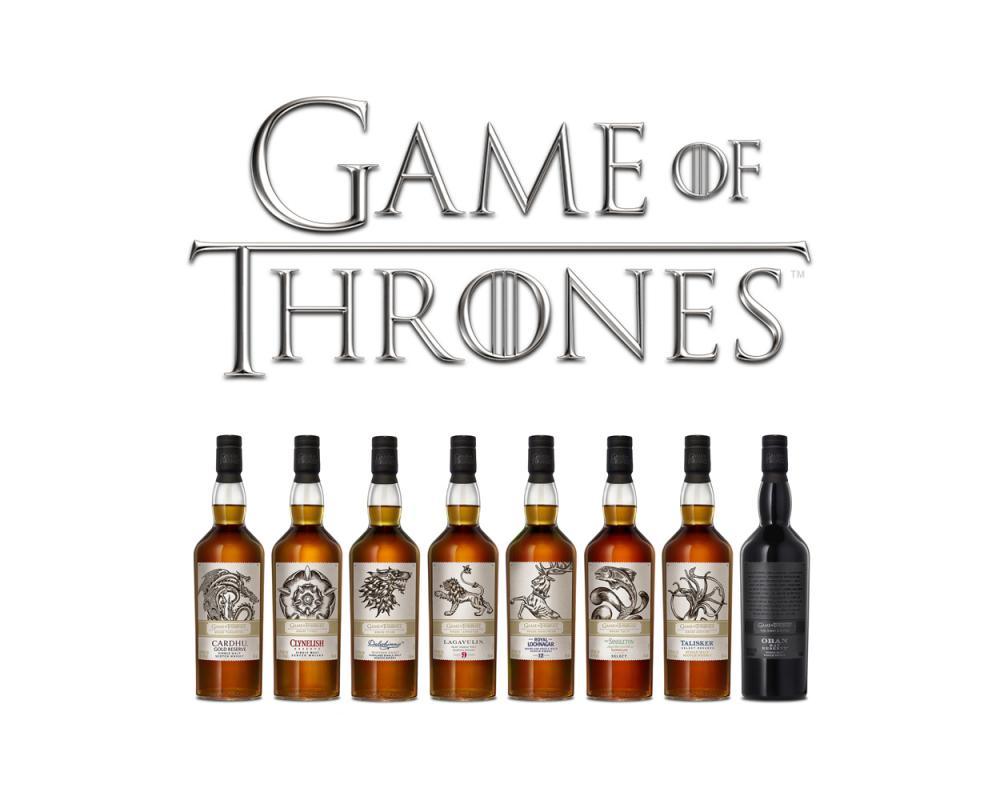 《冰與火之歌:權力遊戲》單一麥芽威士忌限量系列