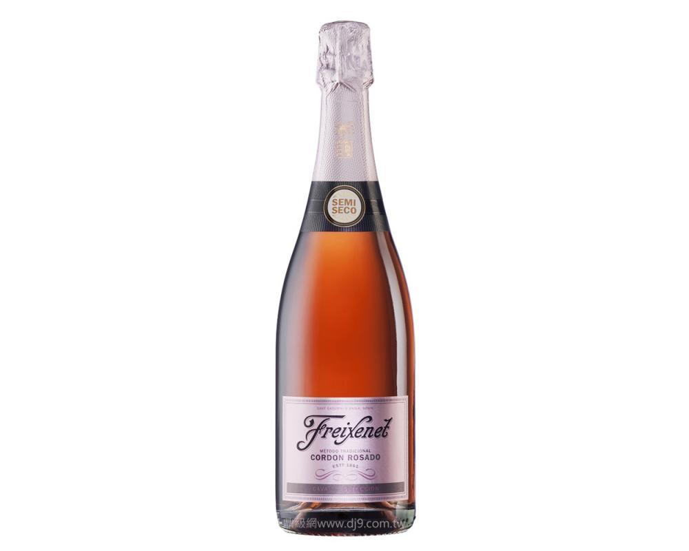 菲斯娜粉紅緞帶玫瑰氣泡酒