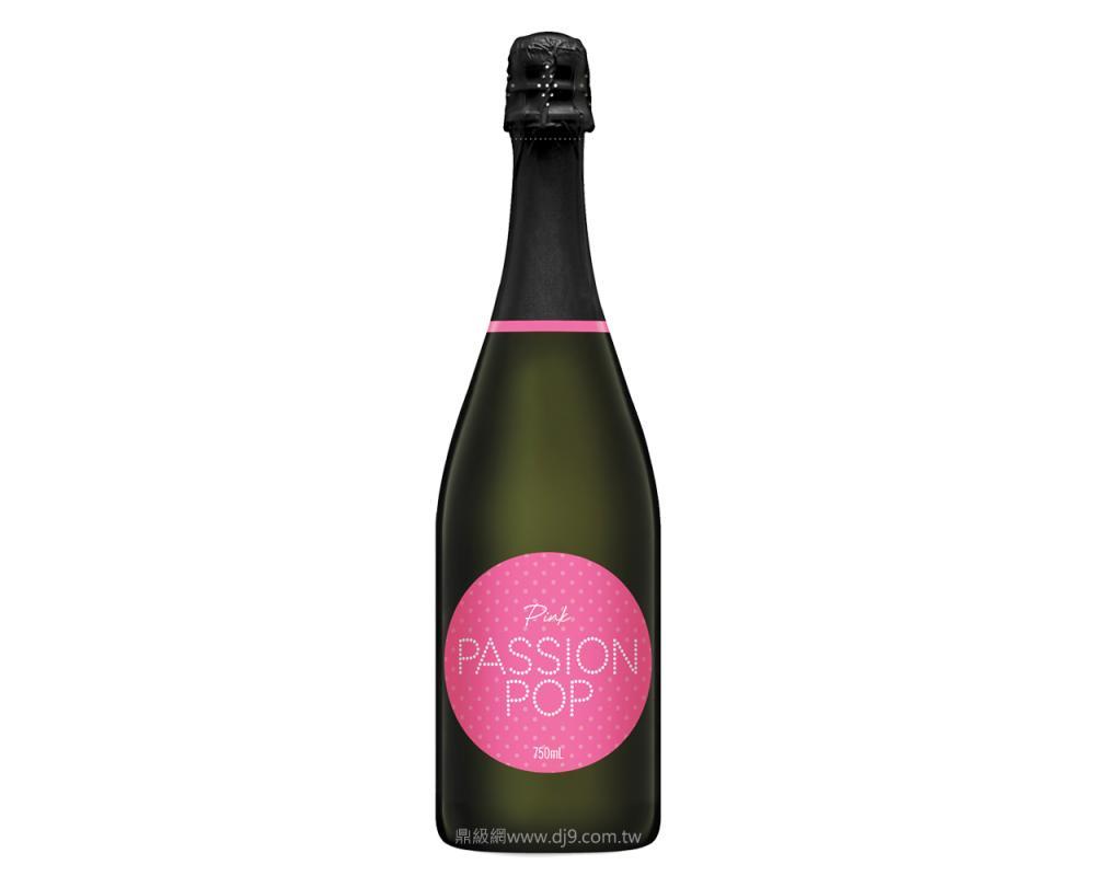 PASSION POP草莓粉紅氣泡酒