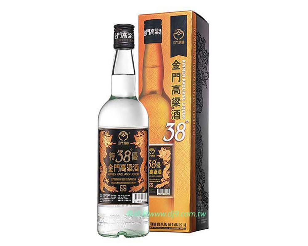 金門38度特優高粱酒