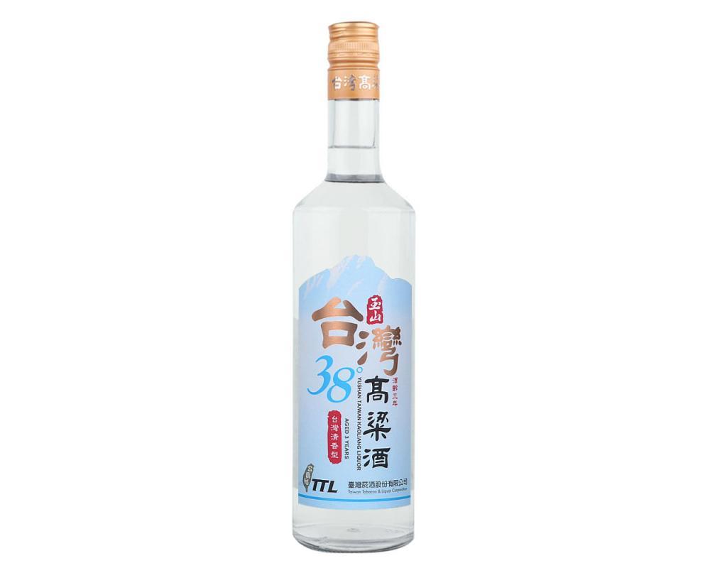 玉山三年38度高粱酒