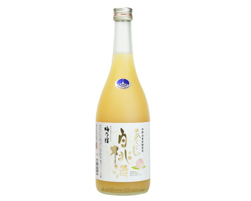 梅乃宿白桃酒