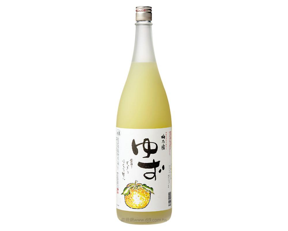 梅乃宿柚子酒1800ml