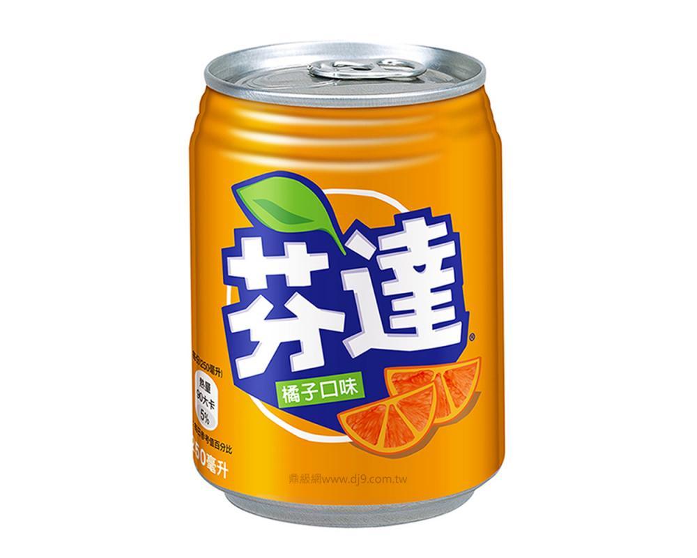 芬達橘子汽水(250mlx24罐)
