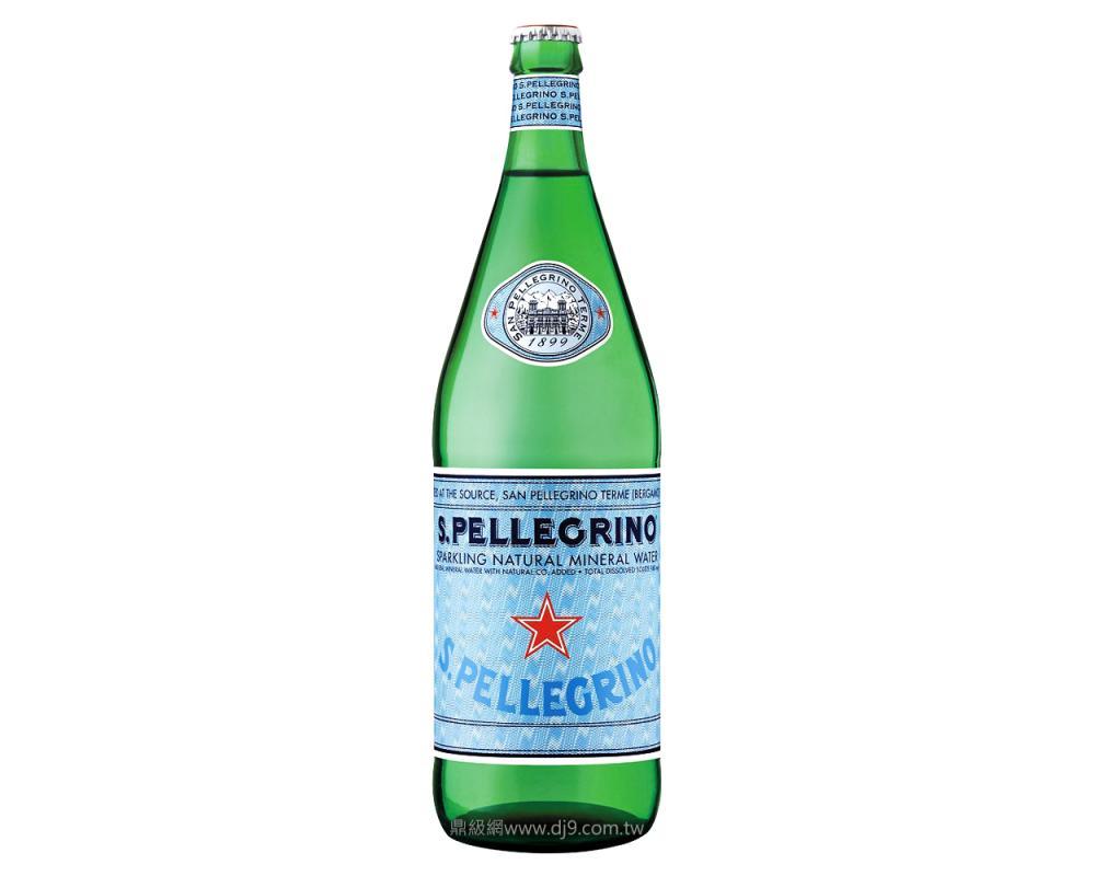 聖沛黎洛天然氣泡礦泉水(1000mlx12瓶)
