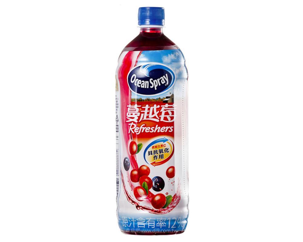 優鮮沛蔓越莓綜合果汁(980mlx12瓶)