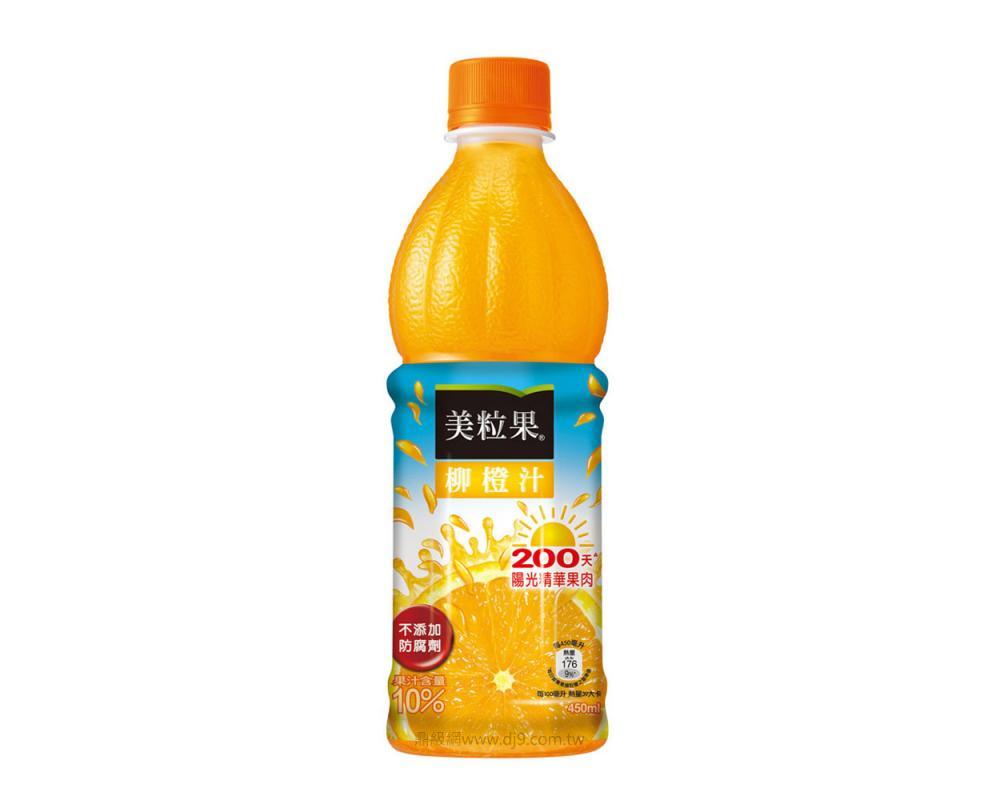美粒果柳橙汁(450mlx24瓶)