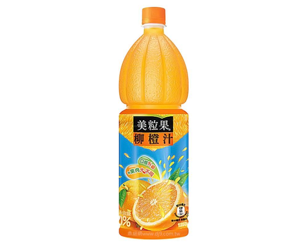美粒果柳橙汁(1250mlx12瓶)