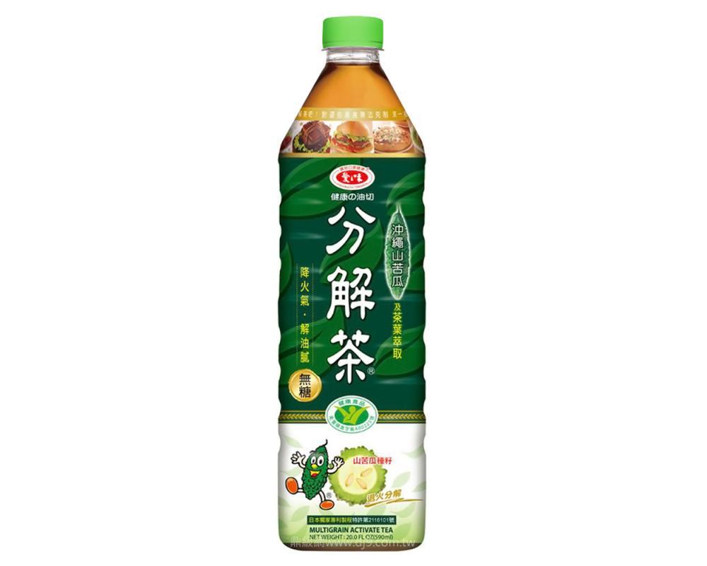 愛之味健康油切分解茶(1000mlx12瓶)