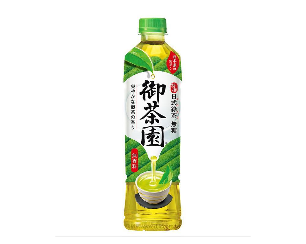 御茶園 特撰日式綠茶-無糖(550mlx24瓶)