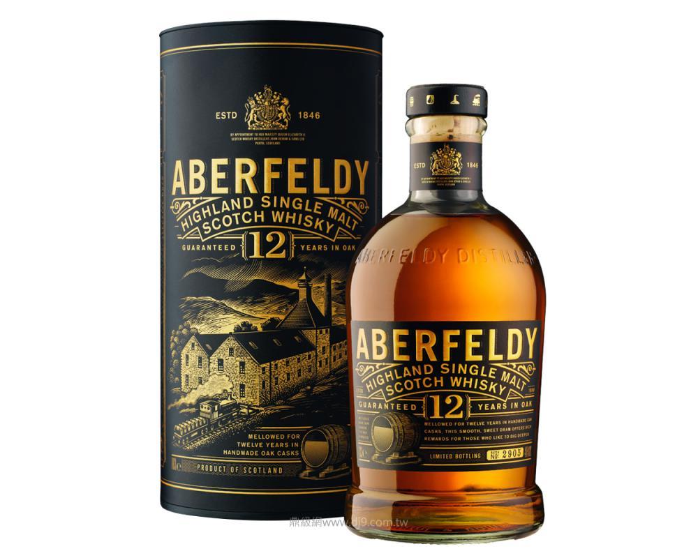 蘇格蘭 艾柏迪 12年單一麥芽威士忌.700ml