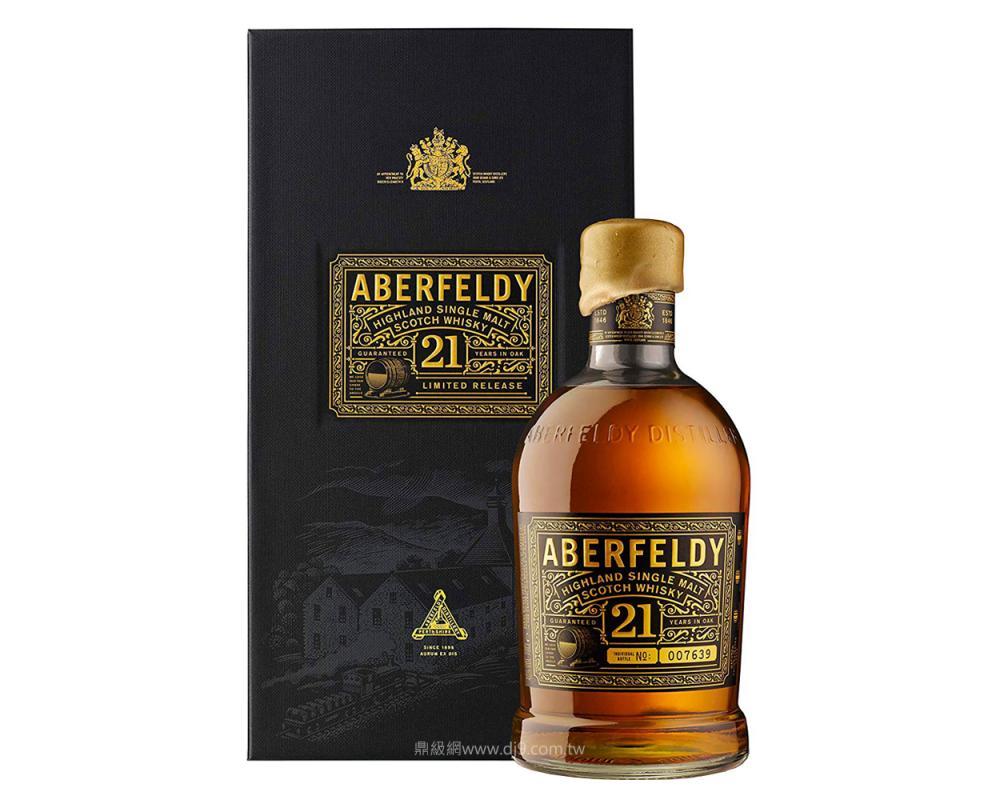 艾柏迪21年單一麥芽威士忌