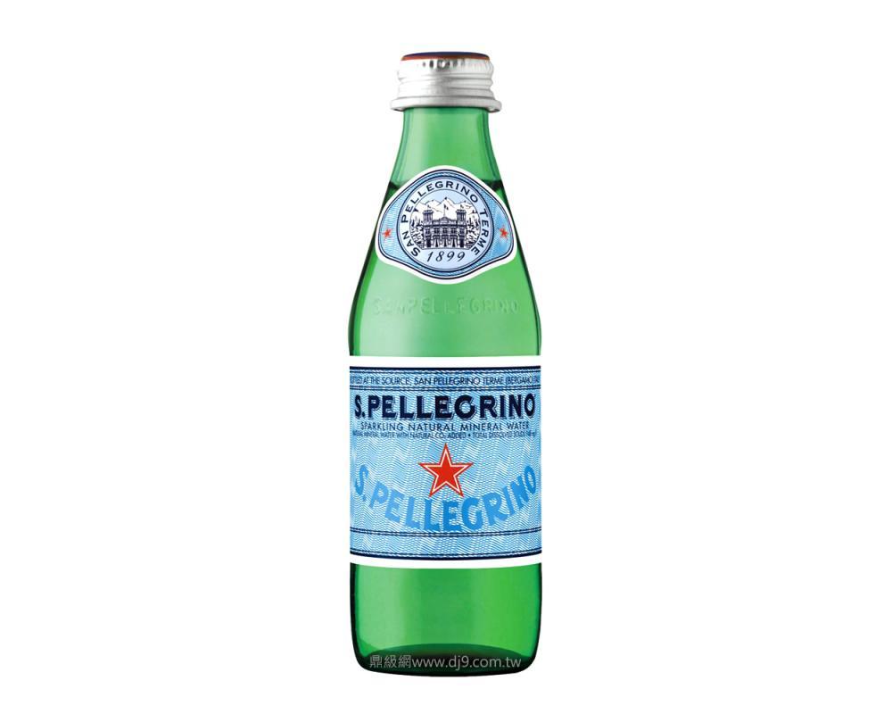 聖沛黎洛天然氣泡礦泉水(250mlx24瓶)