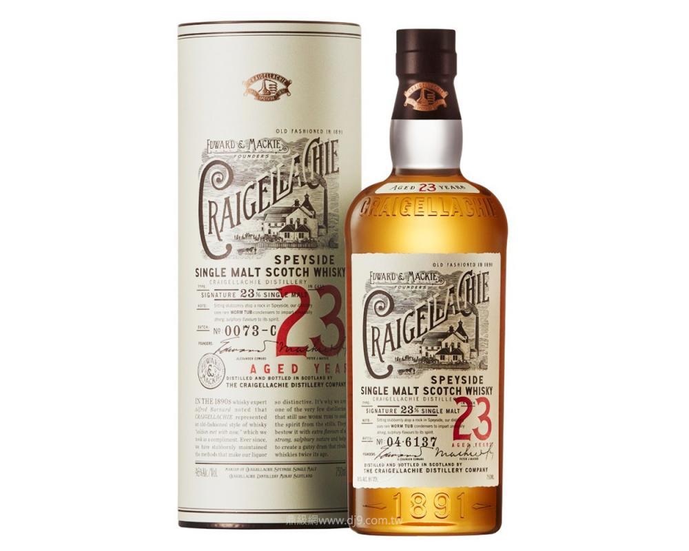 魁列奇23年單一麥威士忌