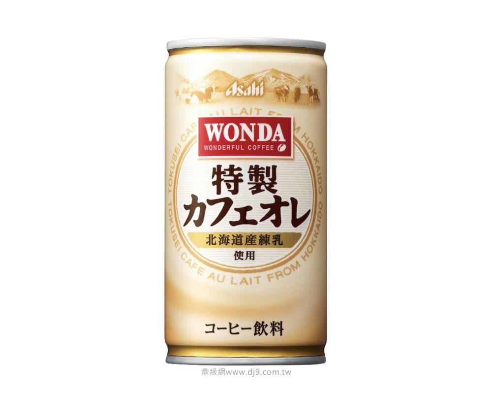 朝日Asahi Wonda特製咖啡歐蕾185ml