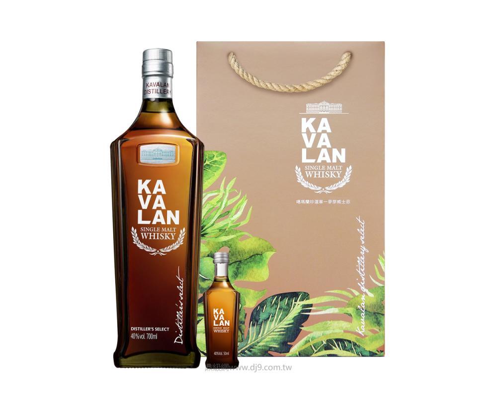噶瑪蘭珍選單一麥芽威士忌禮盒