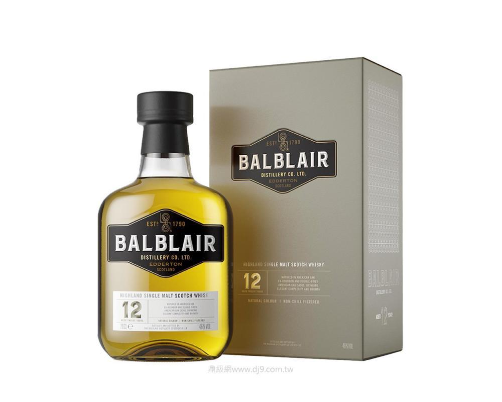 巴布萊爾12年單一麥芽威士忌