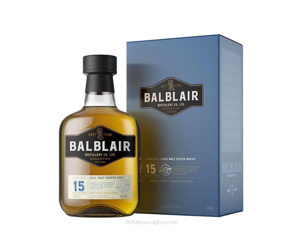 巴布萊爾15年單一麥芽威士忌