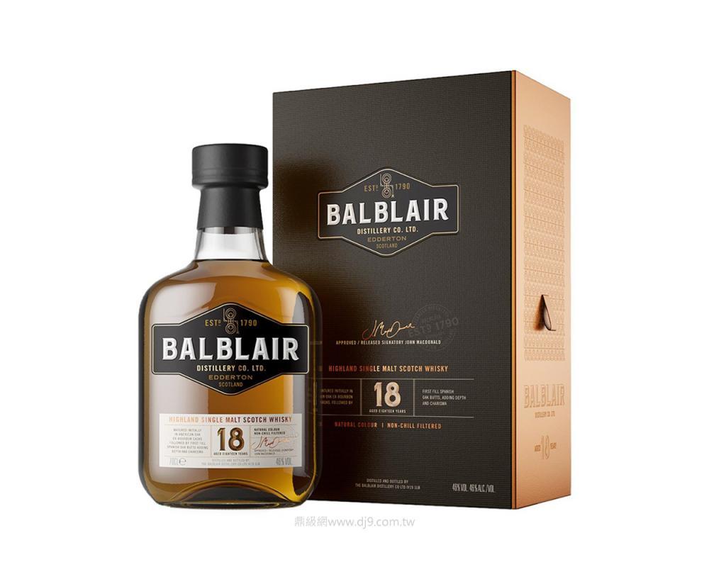 巴布萊爾18年單一麥芽威士忌