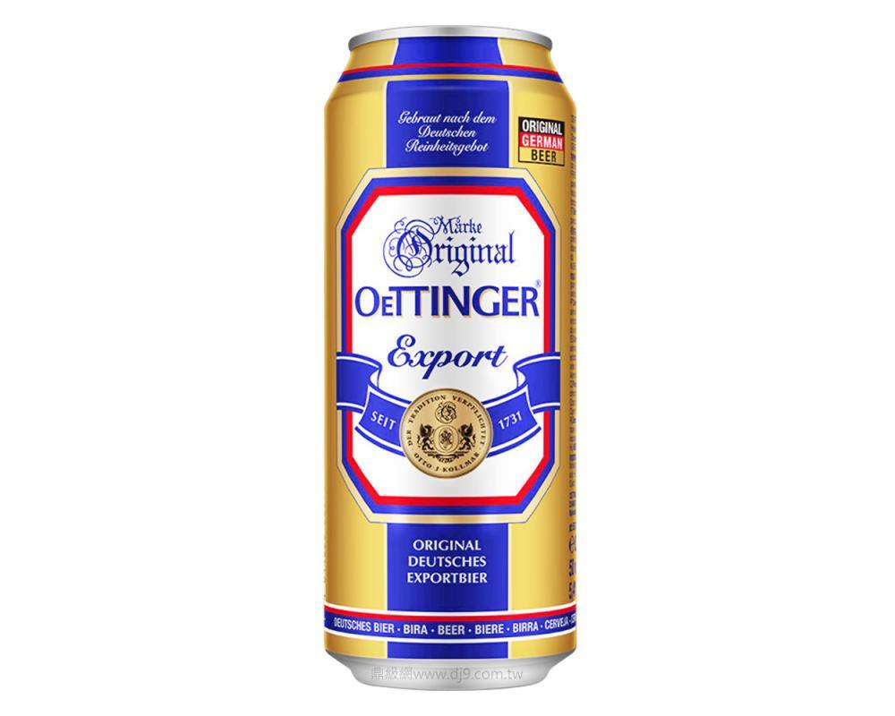 歐廷格大麥啤酒(500mlx24罐)