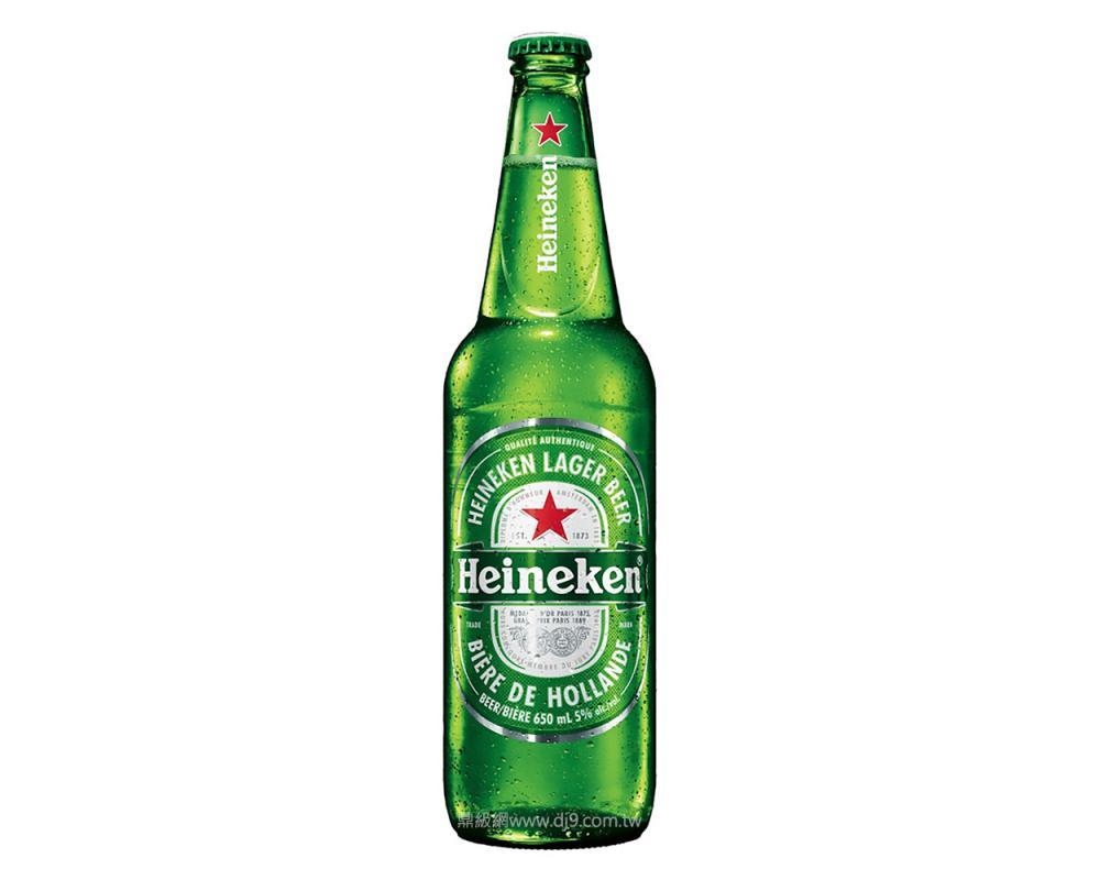 海尼根啤酒(650mlx12瓶)