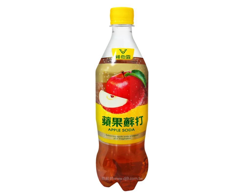 維他露蘋果蘇打(610mlx24瓶)