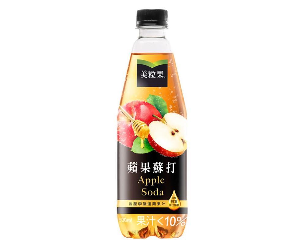 美粒果蘋果蘇打(500mlx24瓶)