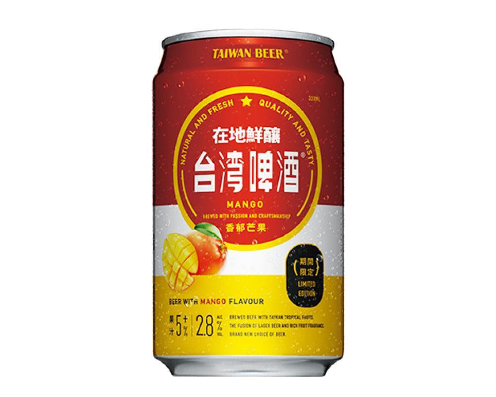 台灣水果啤酒-芒果(330mlx24罐)