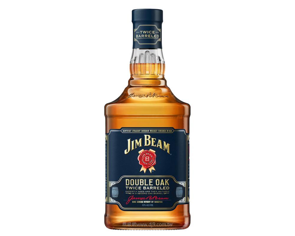 金賓雙筒熟成波本威士忌