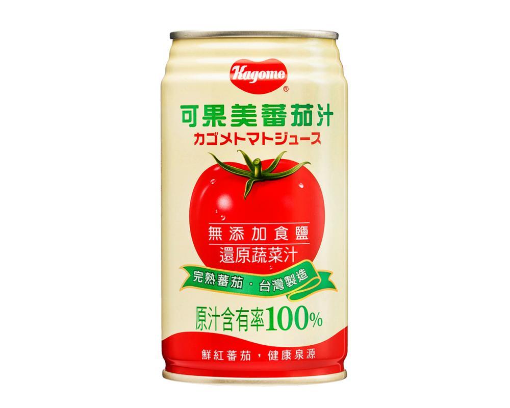 可果美 無鹽蕃茄汁(340mlx24罐)