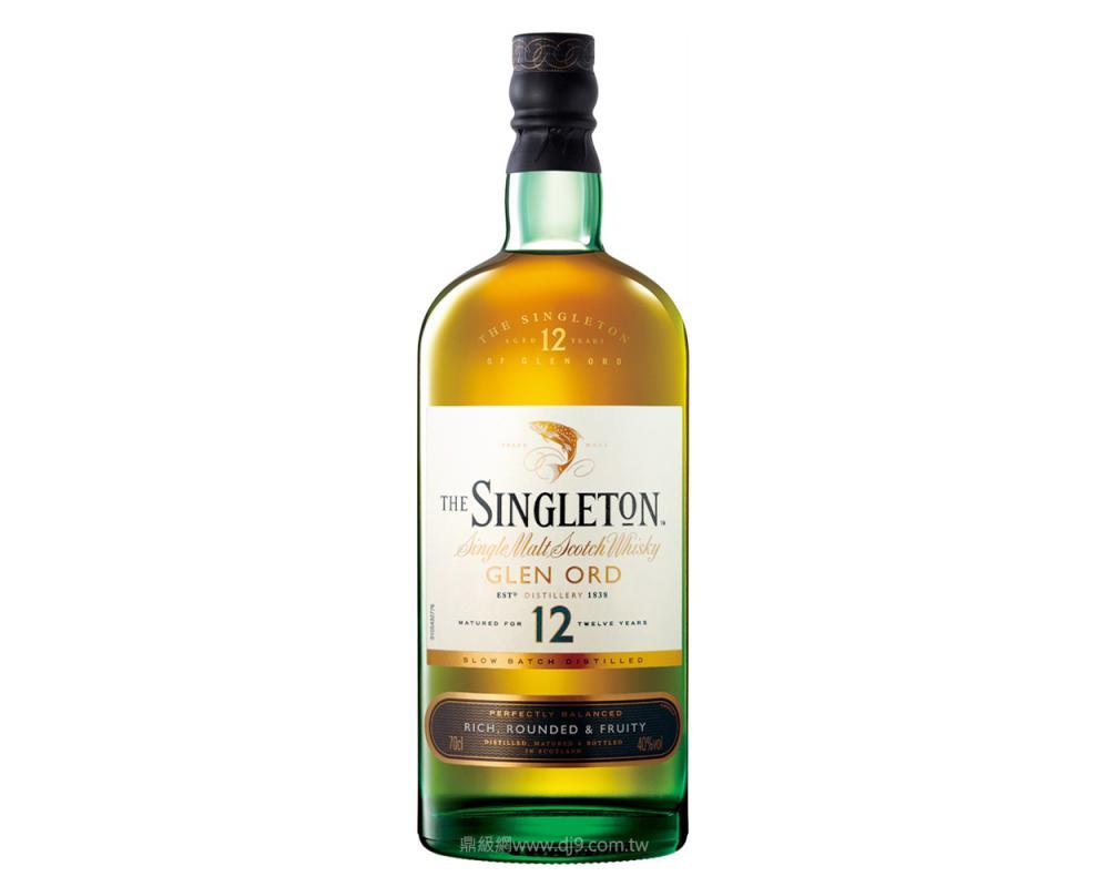 蘇格登12年單一純麥威士忌(亞洲版)