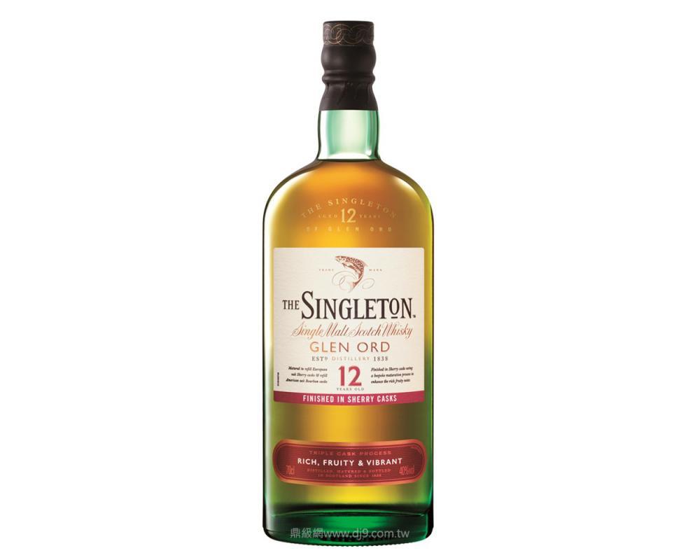 蘇格登12年醇雪莉單一純麥威士忌