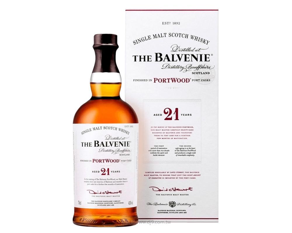 百富21年單一麥芽威士忌