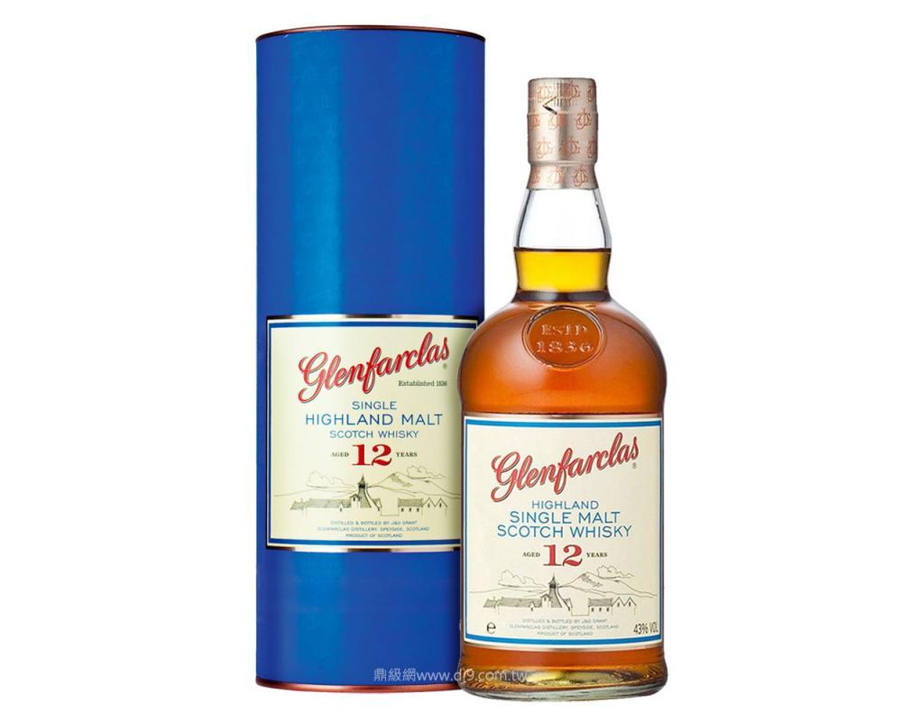 【箱購特價12入】格蘭花格12年單一麥芽威士忌