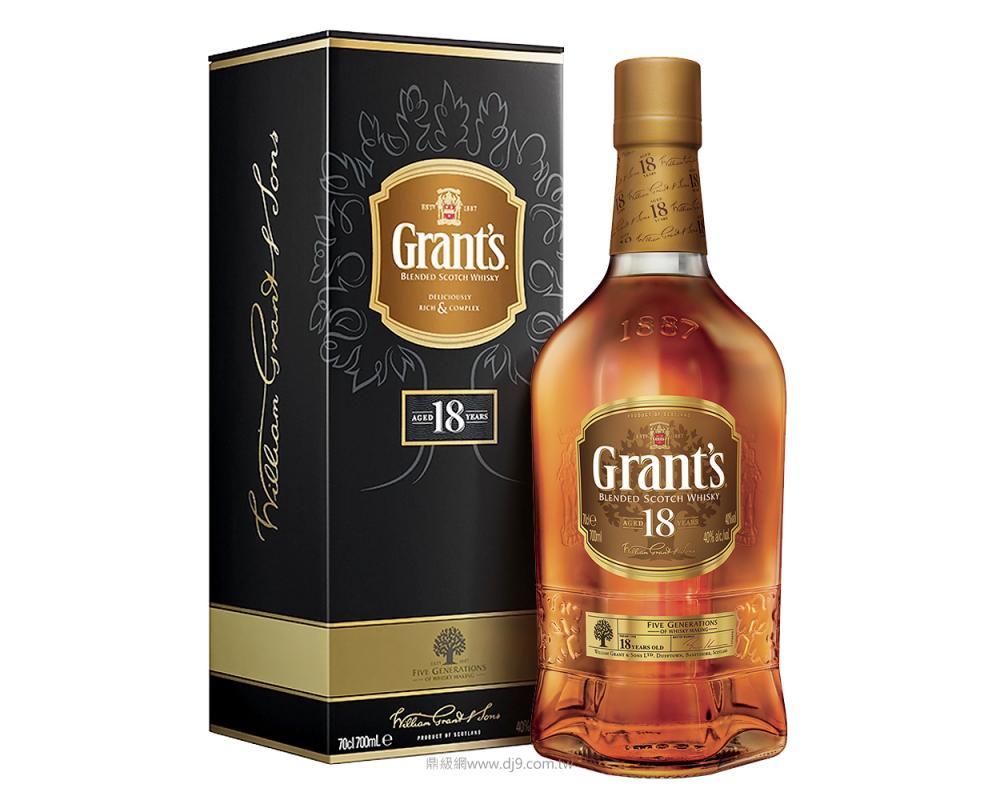【箱購特價6入】格蘭18年調和威士忌