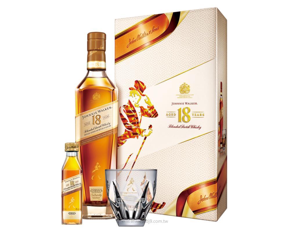 約翰走路18年威士忌禮盒(2020新春限定)