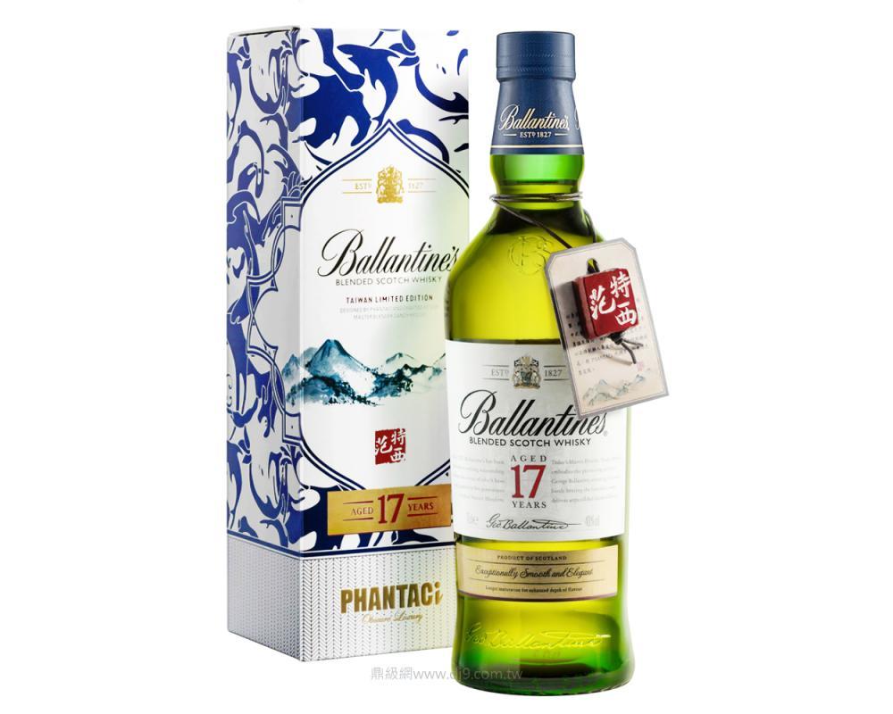 百齡罈17年調和威士忌-Ballantine's X PHANTACi聯名限量版