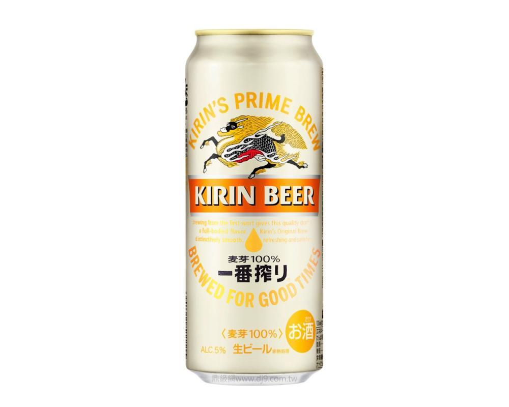麒麟一番搾啤酒(500mlx24罐)