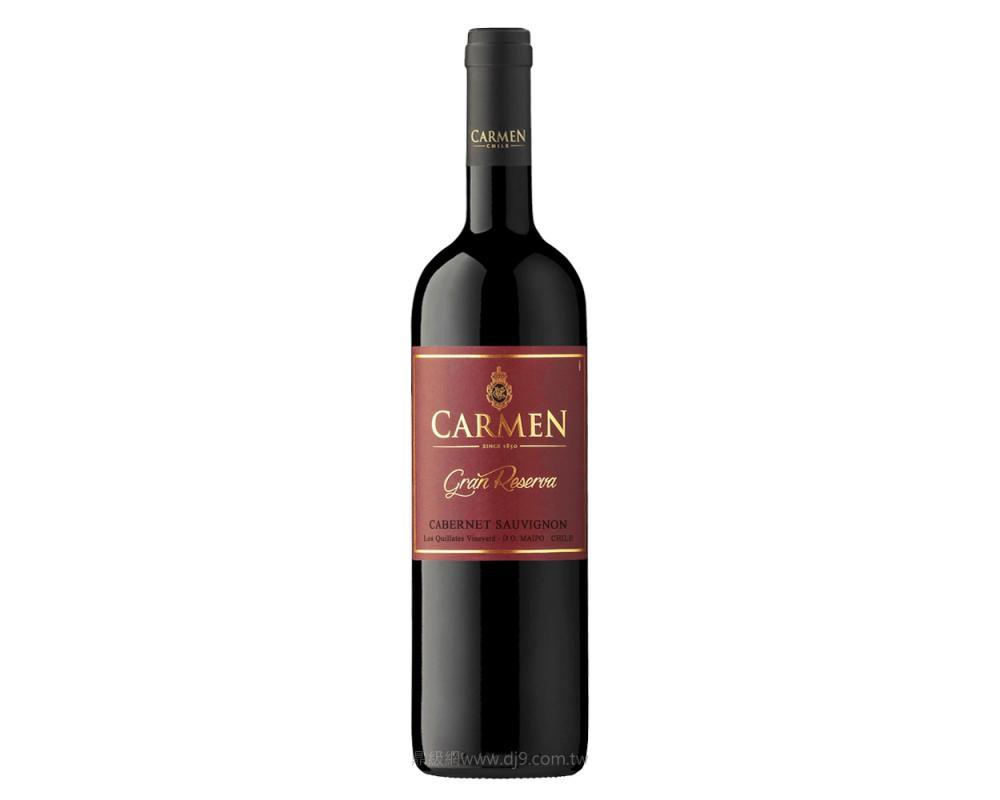 卡門特級典藏卡本內蘇維翁紅酒2017