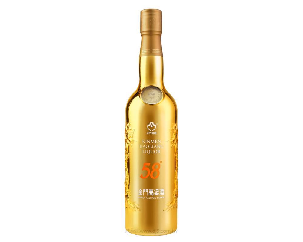 金門高粱酒-最佳白酒鍍金特仕版