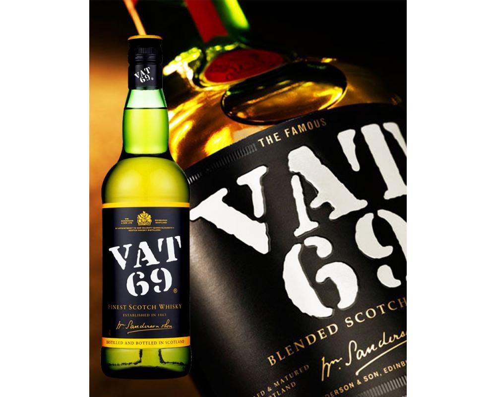 【箱購特價12入】VAT 69 調和威士忌